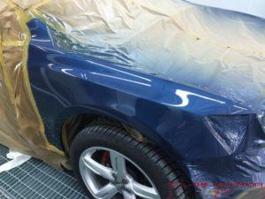 Audi-Q5-Klarlackauftrag