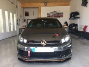 VW Golf Folierung