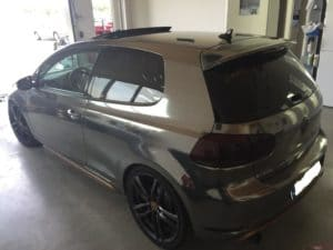 VW Golf Folierung Chrom