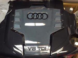 Audi V6 TDI Motorabdeckung