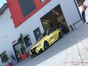 BMW Safety Car Lackierung