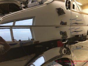VW T5 Kotflügel lackiert