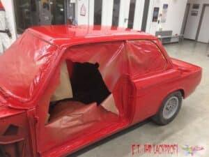 BMW-Seitenwand