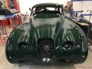 Jaguar Ganzlackierung