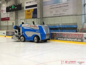 Eishockey Werbung