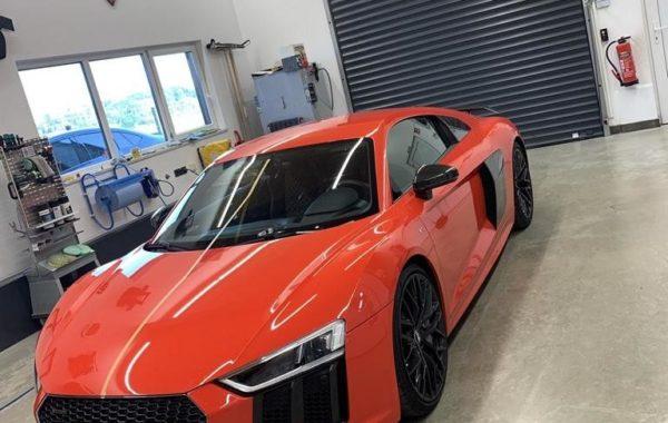 Audi R8 Folierung