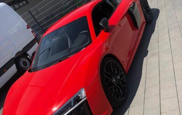 Folierung Audi R8 rot