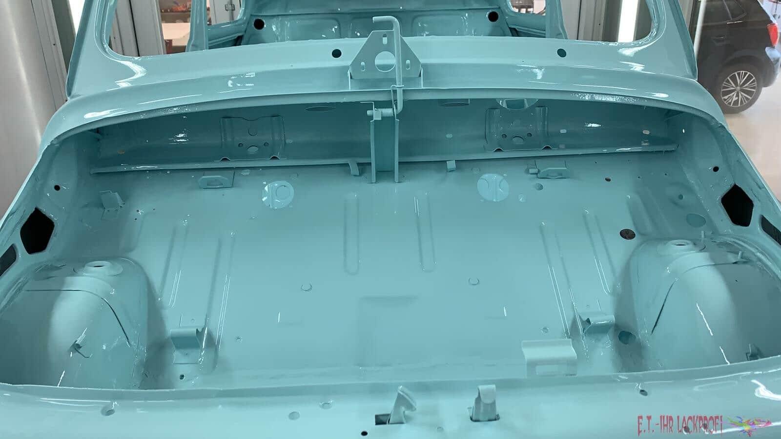 Fiat Lackierung Kofferraum