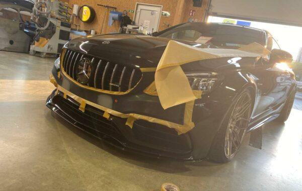 AMG Mercedes Vorbereitung