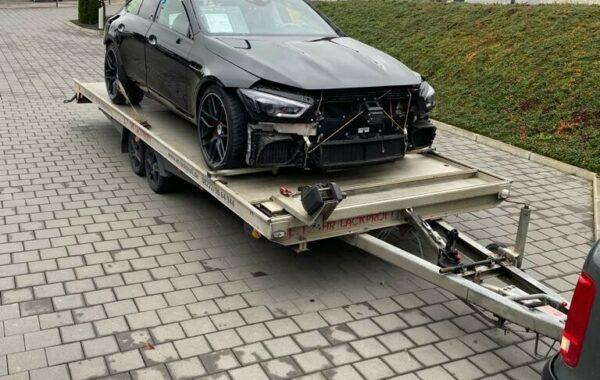 Mercedes Benz Lackierung (1)