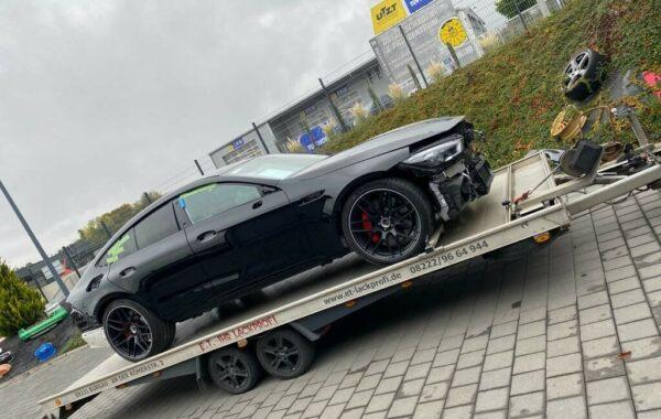 Mercedes Benz Lackierung (2)