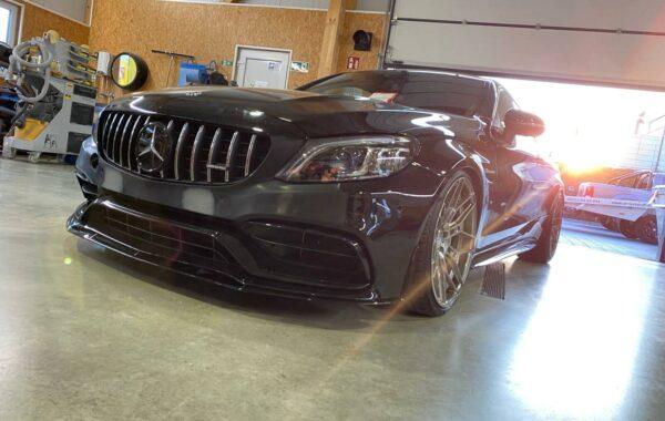 Mercedes Benz lackieren